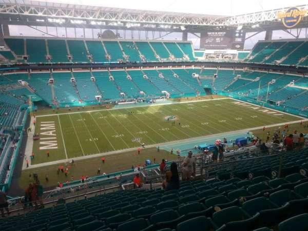 Hard Rock Stadium, section: 350, row: 19, seat: 10