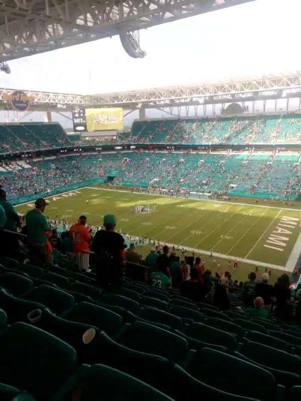 Hard Rock Stadium, section: 341, row: 25, seat: 15