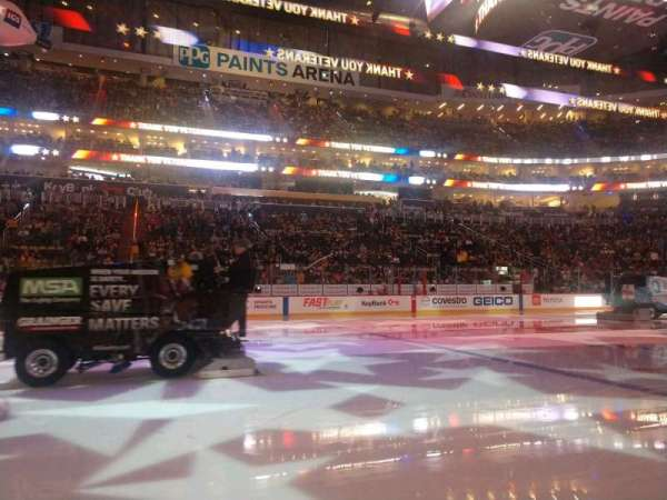 PPG Paints Arena, section: 113, row: A, seat: 14