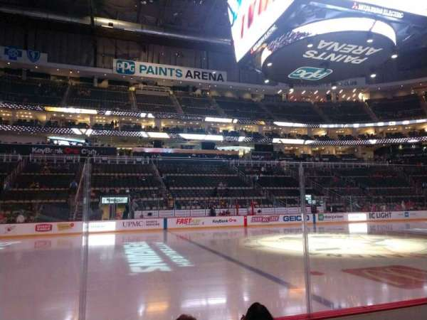 PPG Paints Arena, section: 113, row: D, seat: 11