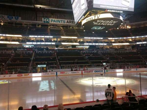 PPG Paints Arena, section: 113, row: H, seat: 8
