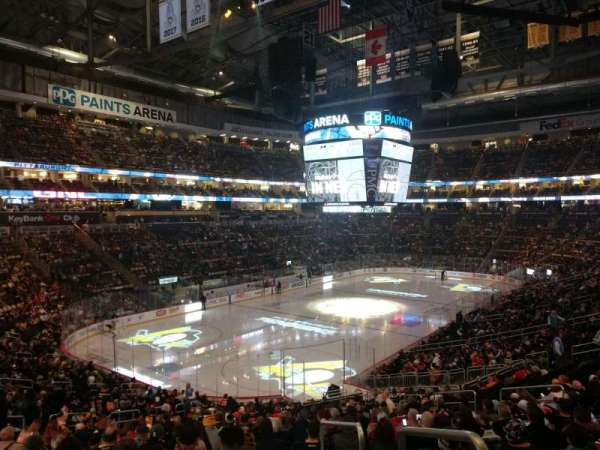 PPG Paints Arena, section: 116, row: DD, seat: 15
