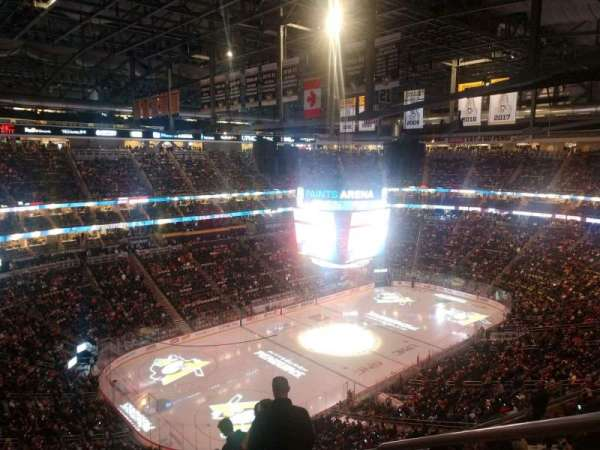 PPG Paints Arena, section: 207, row: M, seat: 1