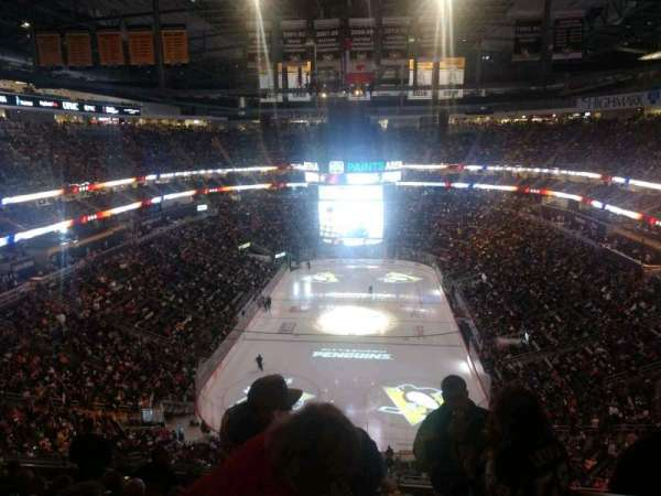 PPG Paints Arena, section: 211, row: K, seat: 1