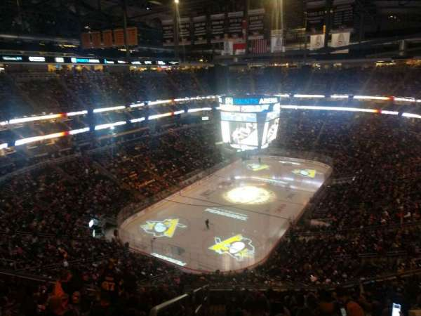 PPG Paints Arena, section: 208, row: P, seat: 14