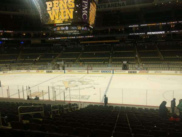 PPG Paints Arena, section: 111, row: T, seat: 8