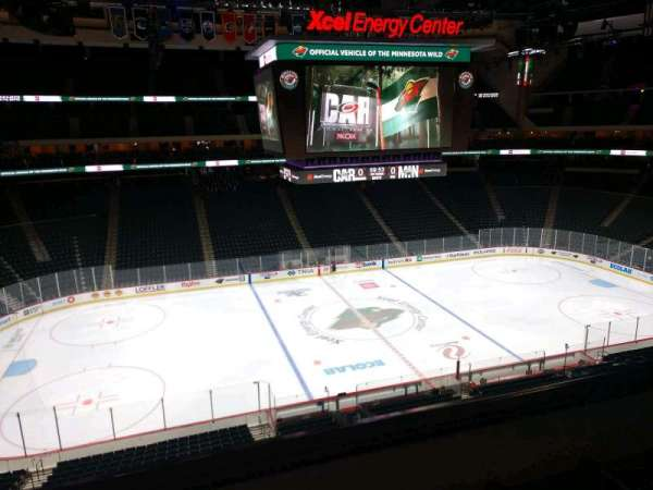 Xcel Energy Center, section: C28, row: 3, seat: 6