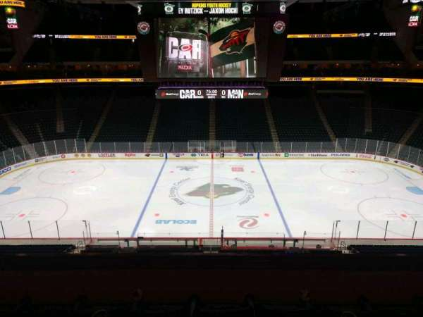 Xcel Energy Center, section: C26, row: 4, seat: 6