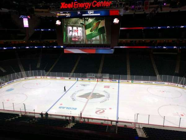 Xcel Energy Center, section: C25, row: 2, seat: 6