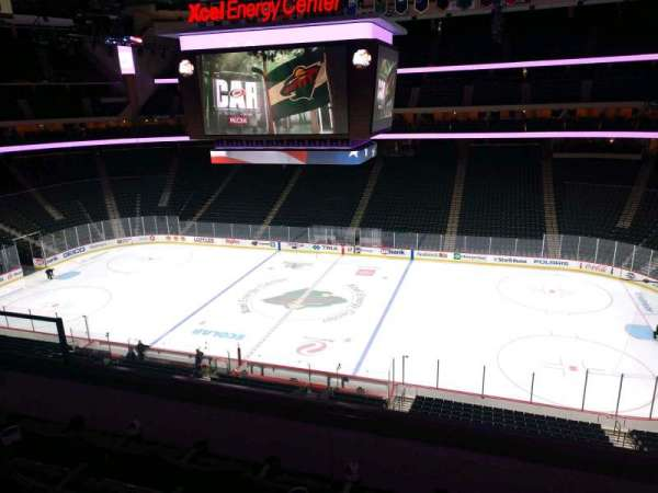 Xcel Energy Center, section: C24, row: 4, seat: 6