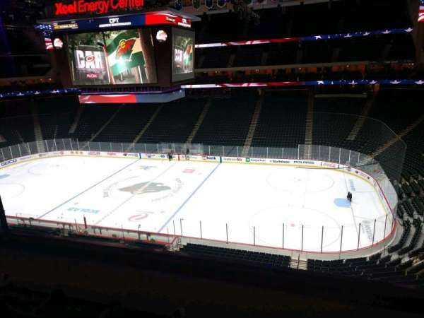 Xcel Energy Center, section: C23, row: 3, seat: 6