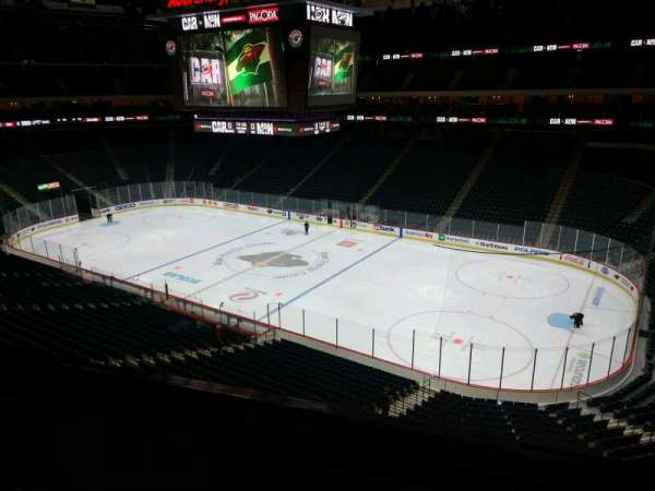 Xcel Energy Center, section: C22, row: 2, seat: 8