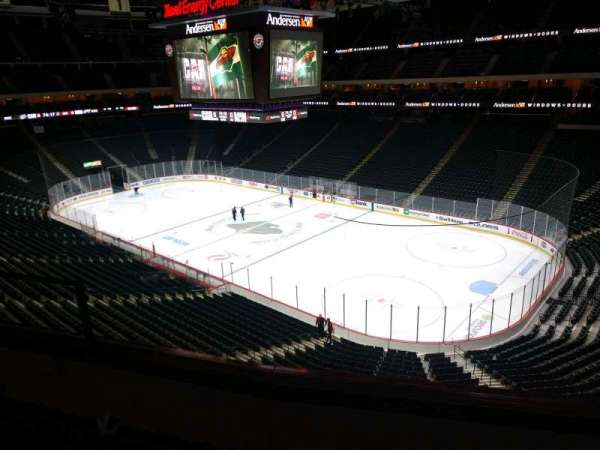 Xcel Energy Center, section: C21, row: 2, seat: 5