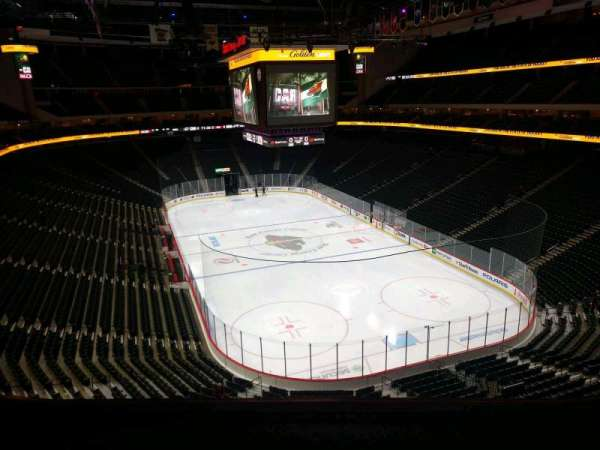 Xcel Energy Center, section: C18, row: 4, seat: 7