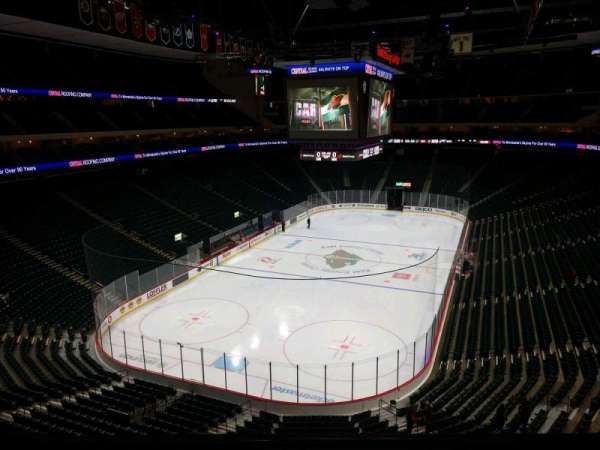 Xcel Energy Center, section: C14, row: 3, seat: 8