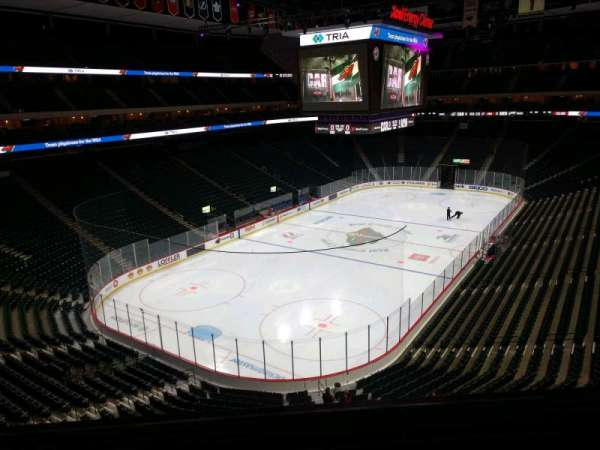 Xcel Energy Center, section: C13, row: 2, seat: 8