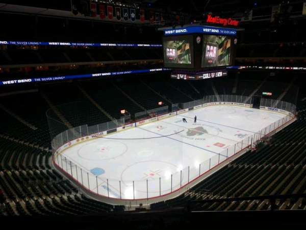 Xcel Energy Center, section: C12, row: 4, seat: 5