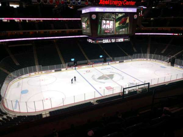 Xcel Energy Center, section: C9, row: 5, seat: 6