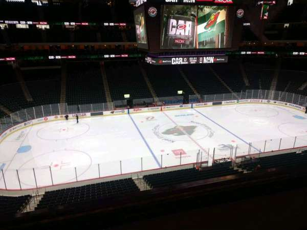 Xcel Energy Center, section: C8, row: 2, seat: 8