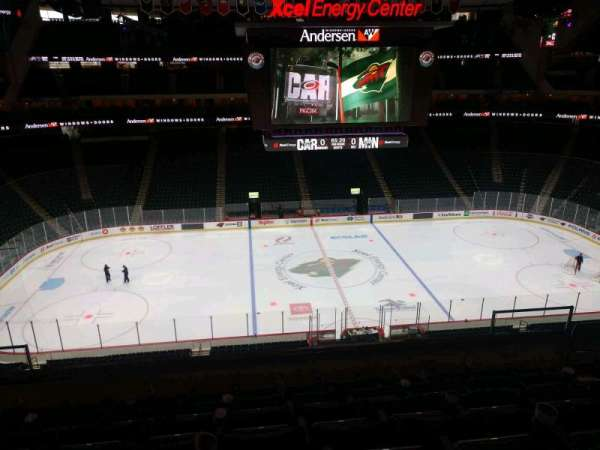 Xcel Energy Center, section: C7, row: 7, seat: 7
