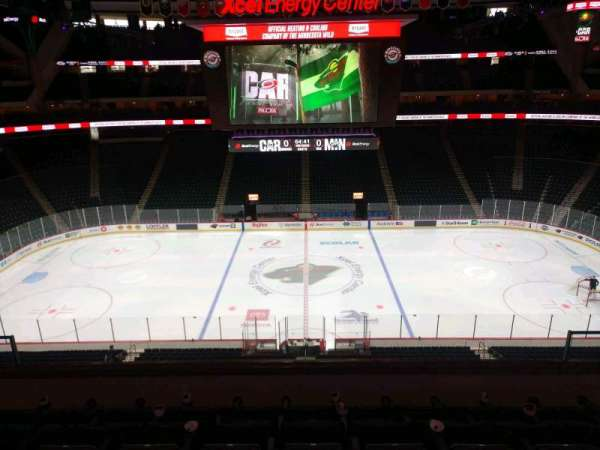 Xcel Energy Center, section: C6, row: 6, seat: 6