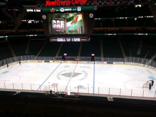 Xcel Energy Center, section: C5, row: 4, seat: 6