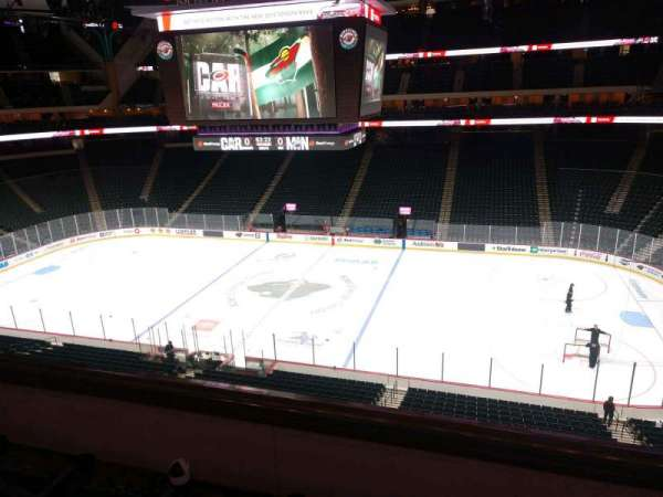 Xcel Energy Center, section: C4, row: 3, seat: 6