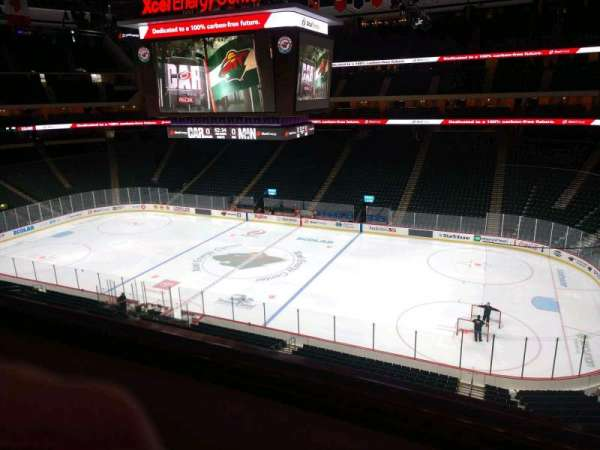 Xcel Energy Center, section: C3, row: 2, seat: 6