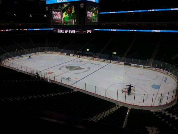 Xcel Energy Center, section: C2, row: 1, seat: 9