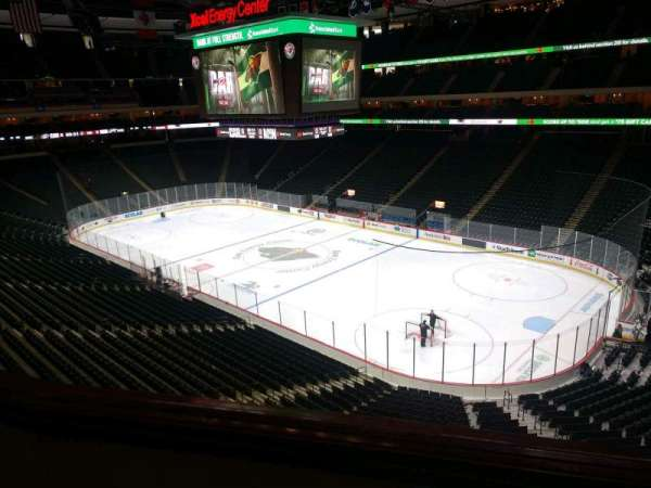 Xcel Energy Center, section: C1, row: 2, seat: 4