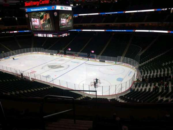 Xcel Energy Center, section: C1, row: 5, seat: 7