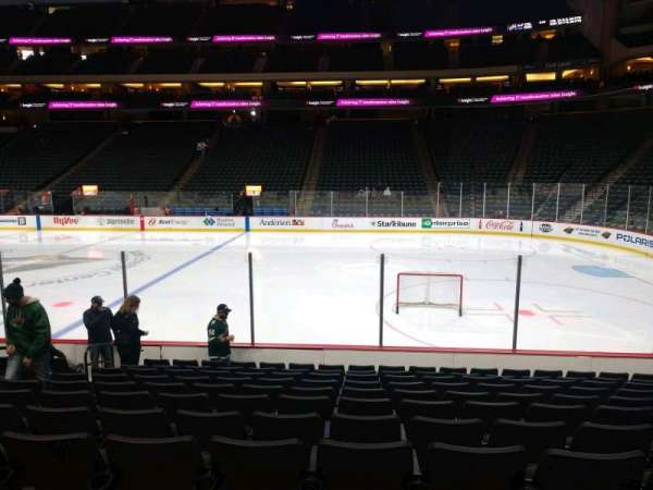 Xcel Energy Center, section: 102, row: 11, seat: 11