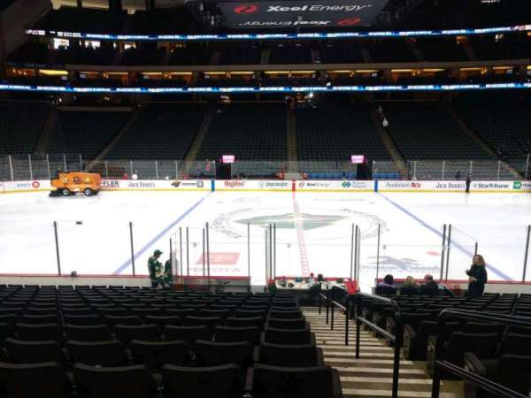 Xcel Energy Center, section: 104, row: 15, seat: 1