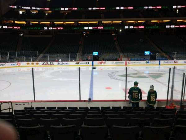 Xcel Energy Center, section: 104, row: 9, seat: 14