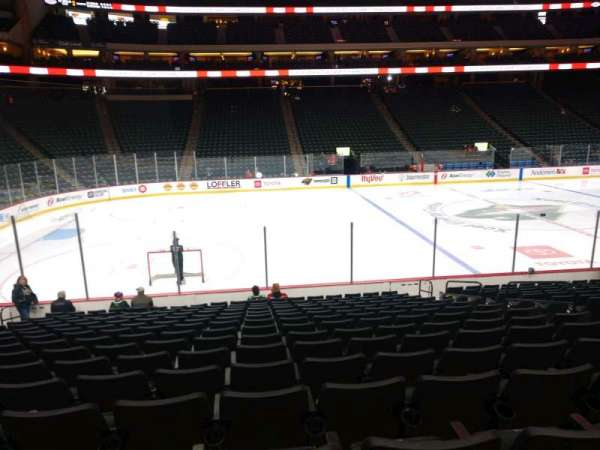 Xcel Energy Center, section: 105, row: 15, seat: 8