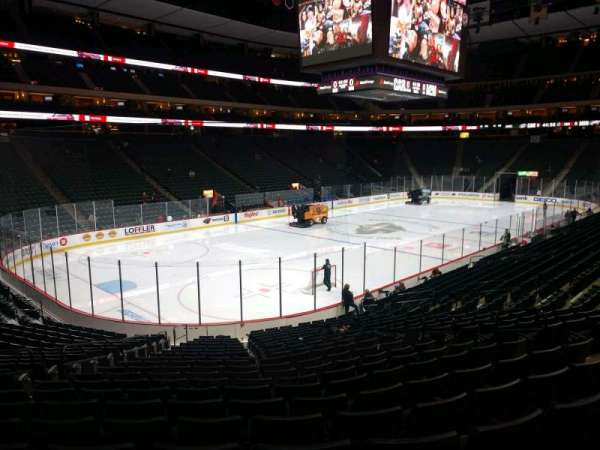 Xcel Energy Center, section: 107, row: 20, seat: 11