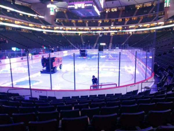 Xcel Energy Center, section: 109, row: 10, seat: 2