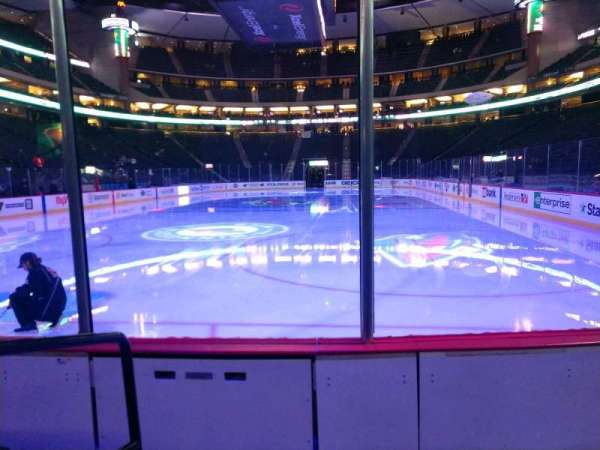 Xcel Energy Center, section: 109, row: 3, seat: 7