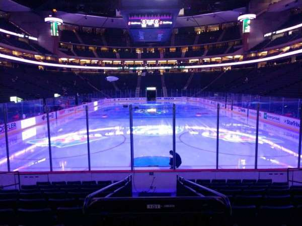 Xcel Energy Center, section: 110, row: 10, seat: 8