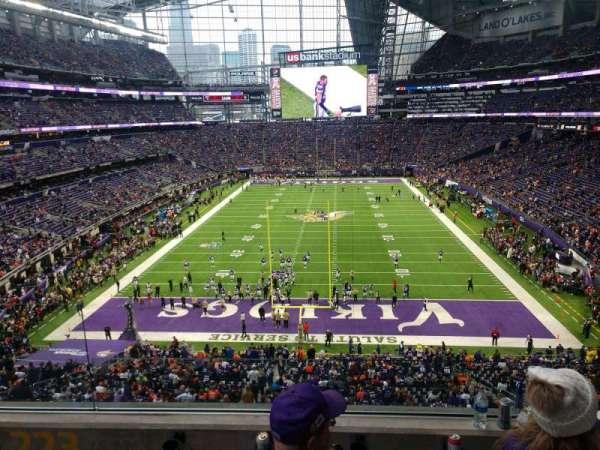 U.S. Bank Stadium, section: 223, row: 3, seat: 12