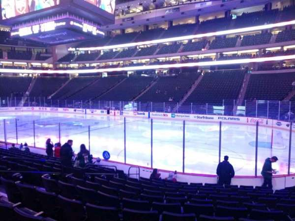 Xcel Energy Center, section: 114, row: 12, seat: 4
