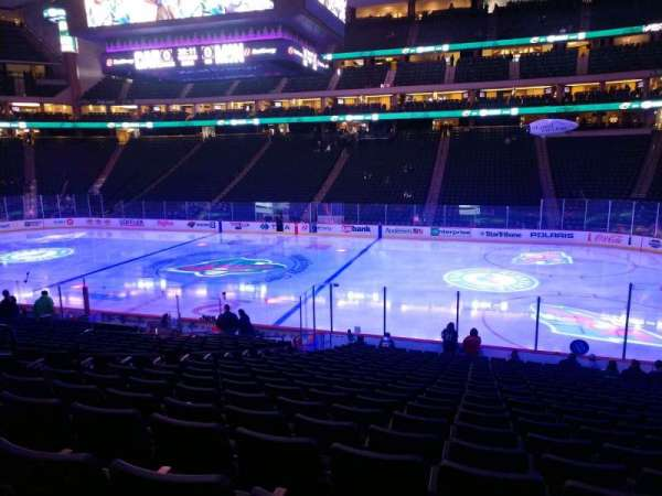 Xcel Energy Center, section: 115, row: 20, seat: 10