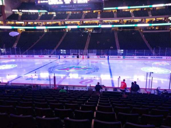 Xcel Energy Center, section: 116, row: 17, seat: 9