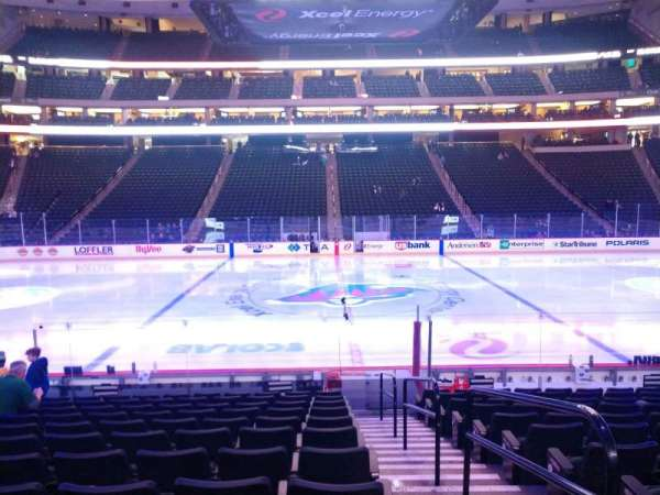 Xcel Energy Center, section: 117, row: 13, seat: 1