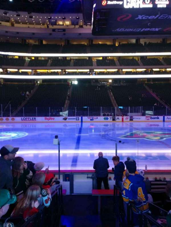 Xcel Energy Center, section: 117, row: 8, seat: 13