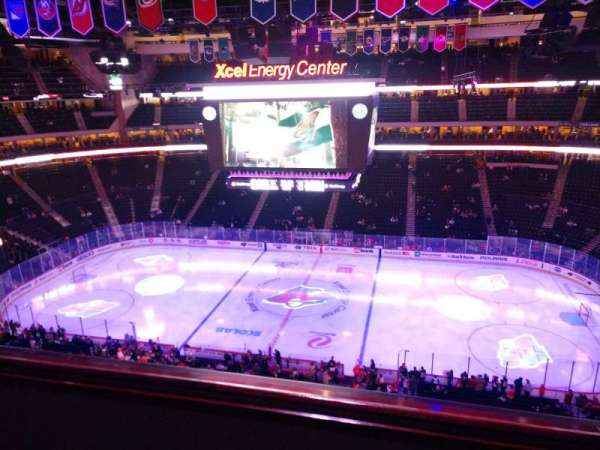 Xcel Energy Center, section: 218, row: 2, seat: 10