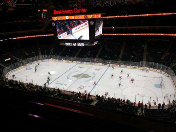 Xcel Energy Center, section: 217, row: 1, seat: 10