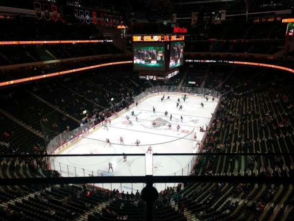 Xcel Energy Center, section: 209, row: 1, seat: 14