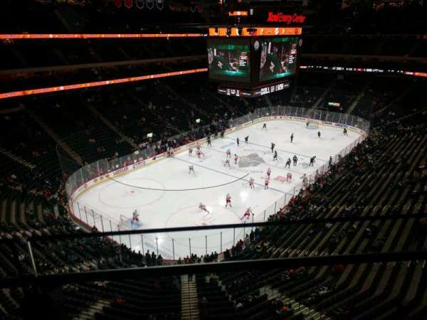 Xcel Energy Center, section: 208, row: 1, seat: 8
