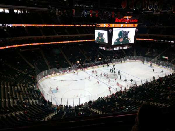 Xcel Energy Center, section: 207, row: 2, seat: 23
